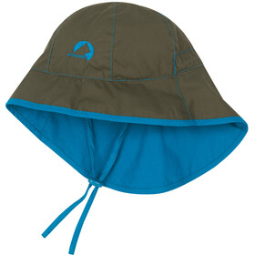 Finkid Ranta Sport Headwear Children blue/olive